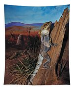 Frill-necked Lizard Tapestry