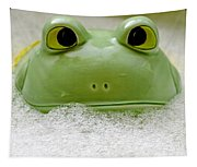 Frog In The Bath  Tapestry