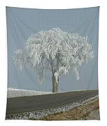Frost On The Big Tree  Tapestry