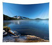 Frost On The Shore Tapestry