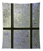 Frosty Window Pane Tapestry