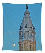 Full Moon And Billy Penn Tapestry