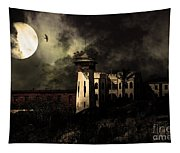 Full Moon Over Hard Time - San Quentin California State Prison - 7d18546 - Partial Sepia Tapestry