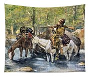 Fur Trapper Tapestry