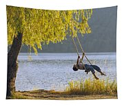 Fv3583, Natural Moments Photography Boy Tapestry