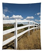 Galloping Fence Tapestry