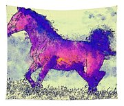 Galloping Grace Tapestry