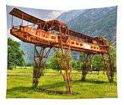 Gantry Crane Tapestry