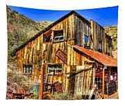Garage Shack Tapestry