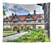 Garden Of Cecilenhof Palace Germany Tapestry