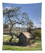 Garden Shed Tapestry