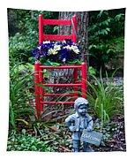 Garden Stil Llife 1 Tapestry