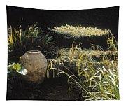 Garden Urns In A Garden Tapestry