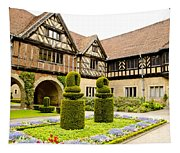 Gardens At Cecilienhof Palace Tapestry