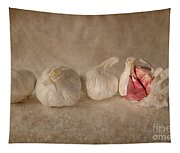 Garlic And Textures Tapestry