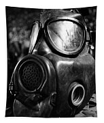 Gas Mask Tapestry