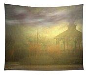 Gazebo Rain Tapestry