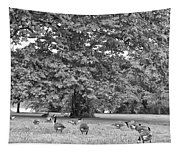 Geese By The River Tapestry
