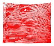 Gentle Giant In Negative Red Tapestry