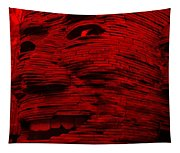 Gentle Giant In Red Tapestry
