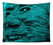Gentle Giant In Turquois Tapestry