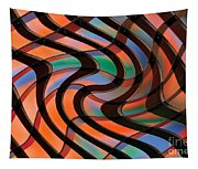 Geometrical Colors And Shapes 2 Tapestry