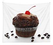 German Chocolate Cupcake Tapestry