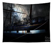 Ghost Ship Of The San Francisco Bay . 7d14153 Tapestry