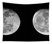 Gibbous Moon Tapestry