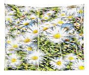 Glass Flowers Tapestry