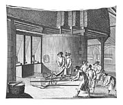 Glass Manufacture, 1751 Tapestry
