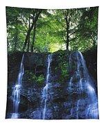Glenariff Waterfall, Co Antrim, Ireland Tapestry