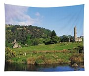 Glendalough, Co Wicklow, Ireland Saint Tapestry