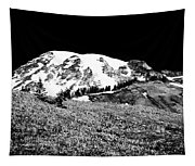 Glorious Mount Rainier  Tapestry