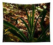 Glowing Iris Plant 3 Tapestry
