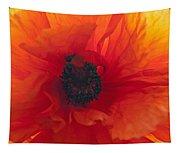 Glowing Poppy Tapestry