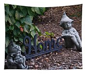 Gnomes At Home Tapestry