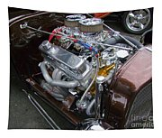 1938 Ford Roadster Go Power Tapestry