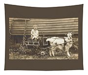 Goat Wagon Tapestry