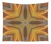Golden Abstarct Energy Tapestry