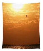 Golden Flight Tapestry