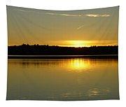 Golden Glow Tapestry
