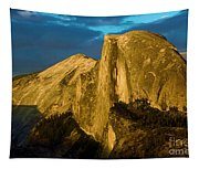 Golden Half Dome Tapestry