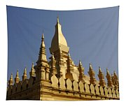 Golden Palace Laos 2 Tapestry