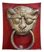 Golden Temple Door Knocker  Tapestry