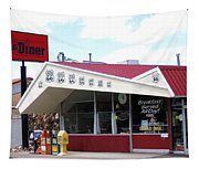 Goldie's Route 66 Diner  Tapestry