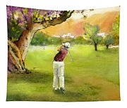 Golf In Spain Castello Masters  04 Tapestry