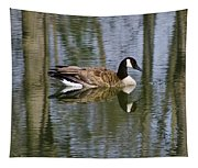 Goose Reflections Tapestry