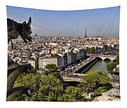 Gorgyle View Of Paris Tapestry