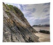 Goscar Rock Tenby 3 Tapestry